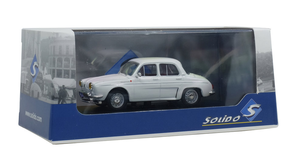Solido 1:43 Renault Dauphine 1961 creme