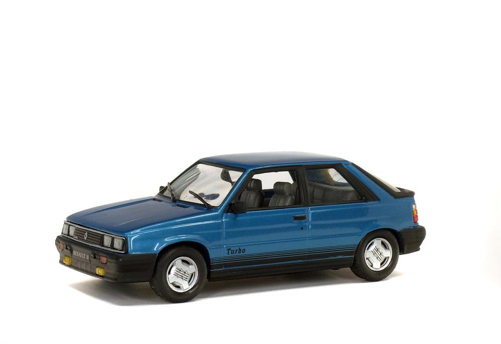 Solido 1:43 Renault 11 Turbo blauw