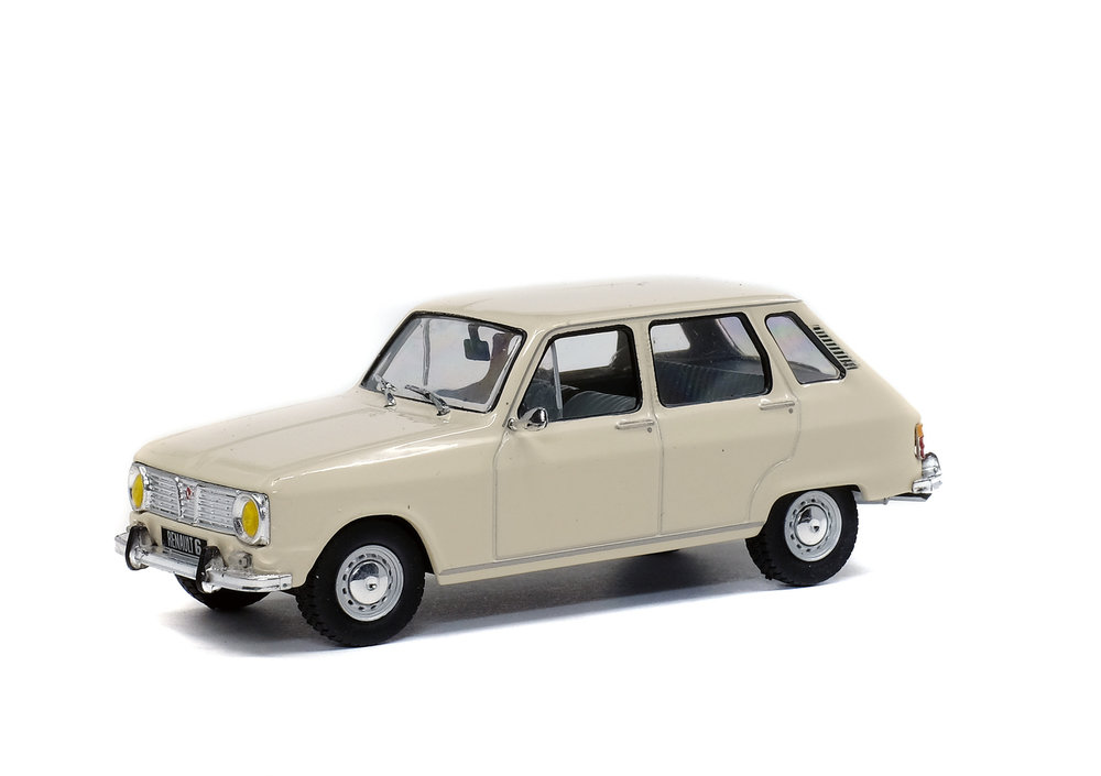 Solido 1:43 Renault 6 1970 wit