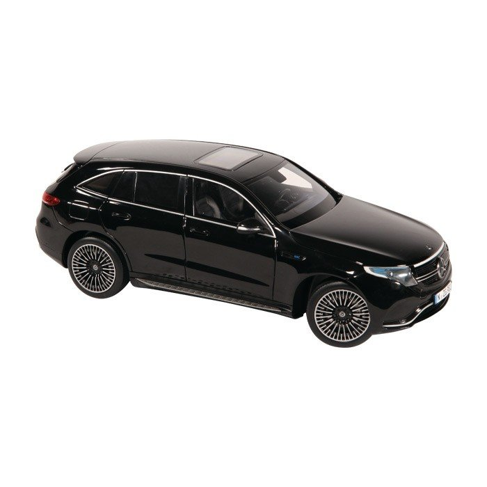 NZG 1:18 Mercedes Benz EQC 400 4Matic zwart.