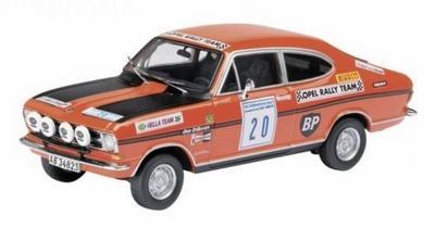 Schuco 1:43 Opel Kadett B Coupe Rally Team BP No 20