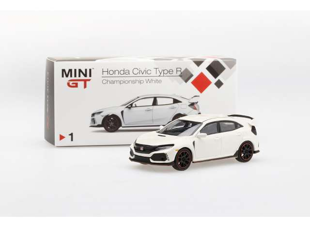 TMS Model 1:64 Honda Civic Type R (FK8) Championship wit 2017