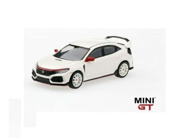 TMS Model 1:64 Honda Civic Type R (FK8) Championship wit Modulo Edition 2017