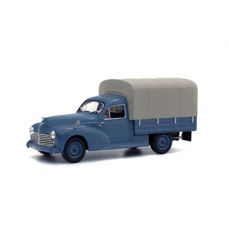 Solido 1:43 Peugeot 203 Pick Up 1952 blauw grijs