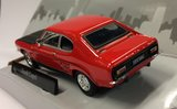 Cararama 1:43 Ford Capri MKI rood zwart_