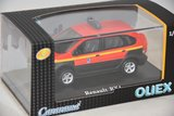 Cararama / OLIEX 1:43 Renault Scenic RX4 4x4 SDIS 02 Aisne in vitrine_