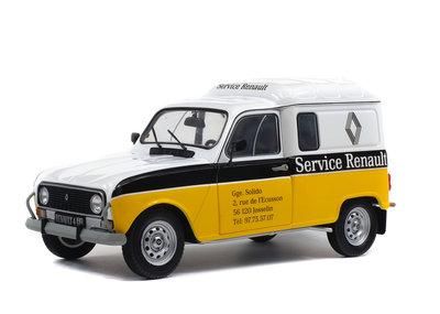 Solido 1:18 Renault 4L F4