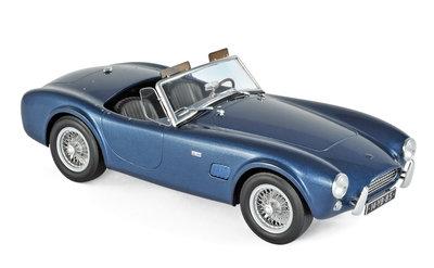 Norev 1:18 AC Cobra 289 1963 Blue metallic, Diecast model
