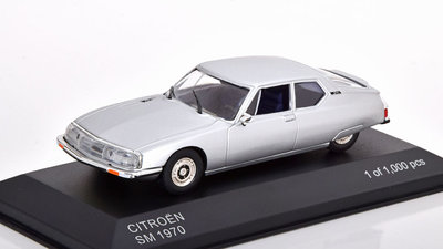 Whitebox 1:43 Citroen SM 1970 zilver