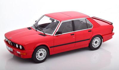 Norev 1:18 BMW M535i 1986 Red, Diecast model