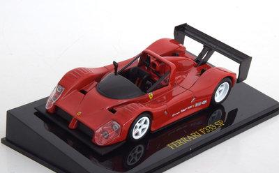 Atlas 1:43 Ferrari F333 SP Plain Body Version rood in vitrine