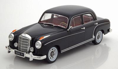 KK Scale 1:43 Mercedes 220S W180II Limousine 1956 zwart