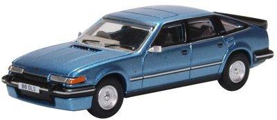 Oxford 1:76 Rover SD1 3500 Vitese Moonraker blauw