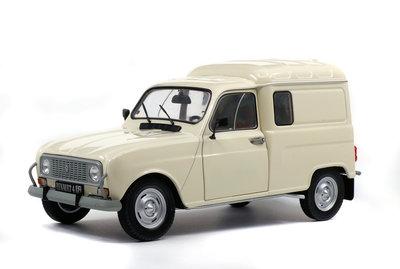 Solido 1:18 Renault 4 F4 1975 creme