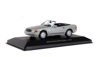 Solido 1:43 Mercedes Benz 500 SL 1989 zilver