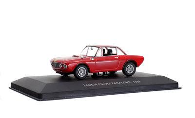 Solido 1:43 Lancia Fulvia Fanalone rood