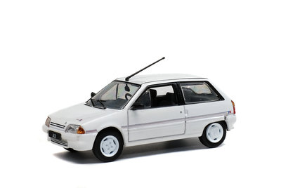 Solido 1:43 Citroen AX Kway serie wit