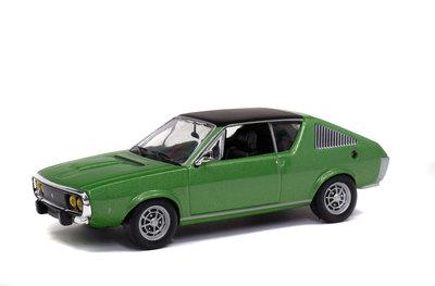 Solido 1:43 Renault 17 1974 groen
