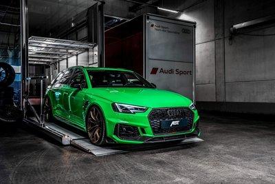 GT Spirit 1:18 ABT RS4+ Viper Green. Levering 12/2019. Te reserveren