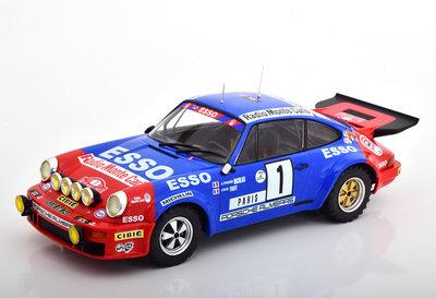 IXO 1:18 Porsche 911 Carrera RS No1 Porsche Almeras Esso Rallye WM, J.P.Nicolas J.Todt RMC 1979