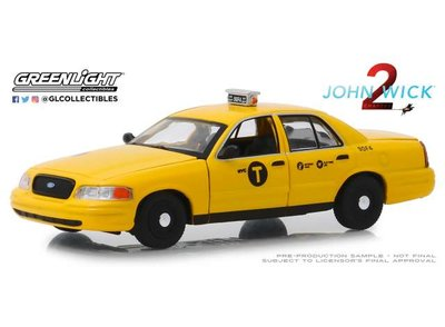 Greenlight 1:43 Ford Crown Victoria 2008 Taxi