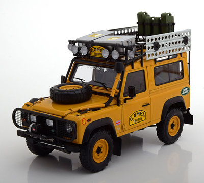 Almost Real 1:18 Land Rover Defender 90 Camel Trophy Edition lichtbruin