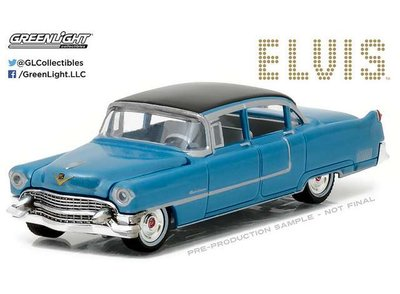 Greenlight 1:64 Cadillac Fleetwood series 60 1955 Elvis Presley Hollywood series 16 blauw