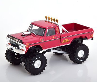 Greenlight 1:43 Ford F250 Monter Truck High Roller 1979 rood