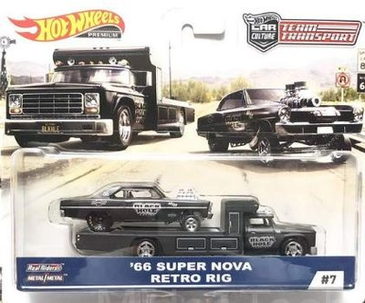 Hotwheels 1:64 Nova Team Transport '66 Super Nova Retro Rig no 7