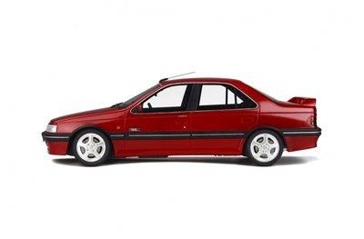 Otto Mobile 1:18 Peugeot Mi Le Mans rood, oplage 999 stuks. Levering 09/2019- te reserveren