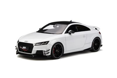 GT Spirit 1:18 Audi ABT TT RS-R wit metalic
