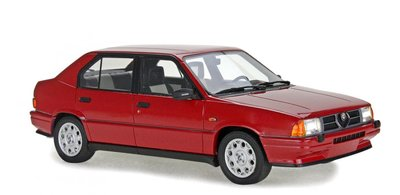 Laudoracing 1:18 Alfa Romeo 33 1.5 Quadrifoglio Verde 1984 rood