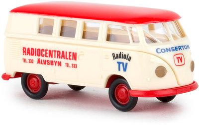 Brekina 1:87 Volkswagen T1B Kombi Radiocentrale
