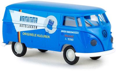 Brekina 1:87 Volkswagen T1B Dr Kurt Herberts Autolakken blauw