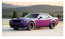GT Spirit 1:18 DODGE CHALLENGER R/T SCAT PACK WIDEBODY Plum crazy