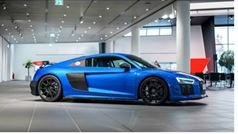 GT Spirit 1:18 AUDI R8 PERFORMANCE PARTS Ara blue