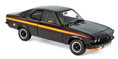 Norev 1:18 Opel Manta GT/E Black Magic 1975 - Black