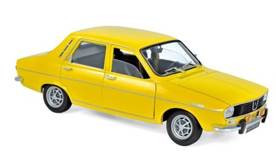 Norev 1:18 Renault 12 TS 1973 - Yellow
