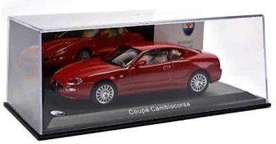 Atlas 1:43 Maserati Cambiocorsa Coupe 2002 rood in vitrine