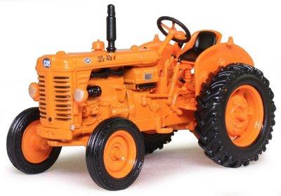 Atlas 1:43 Om 35-40 R 1952 Tractor oranje in blister verpakking
