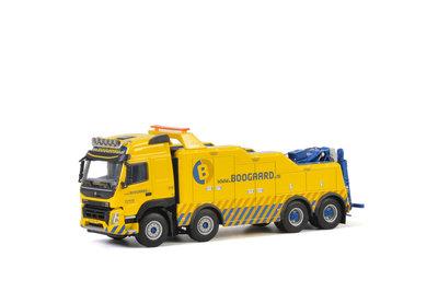 WSI 1:50 Van Den Boogaard Volvo FMX Globetrotter 8X4 WRECKER geel