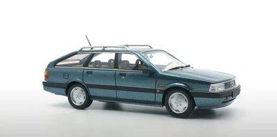 DNA Collectibles 1:43 Audi 200 Avant 20V Quattro blauw zwart 1991 oplage 370 stuks