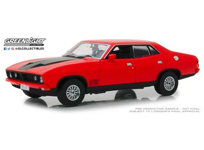 Greenlight 1:18 Ford Falcon XB GT351 4 Deurs sedan 1974 rood