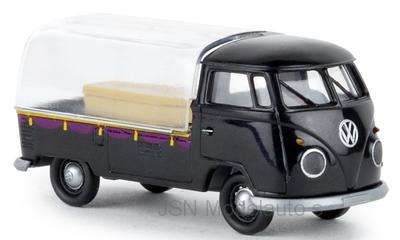 Brekina 1:87 Volkswagen T1b Lijkwagen 1960 zwart