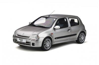 Otto Mobile 1:18 Renault Clio 2 RS Ph.1 Gris Boreal oplage 999 stuks
