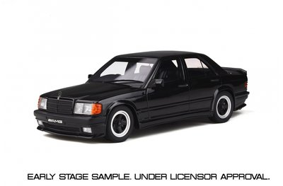 Otto Mobile 1:18 Mercedes-Benz 190E 2.3 AMG Black oplage 2000 stuks