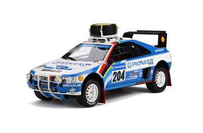 Otto Mobile 1:18 Peugeot 405 T16 Grand Raid Paris Dakar No 204 A. Vatanen oplage 1500 stuks