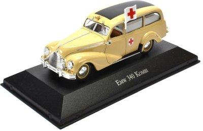 Atlas 1:43 Emw 340 Kombi Ambulance 1953 creme