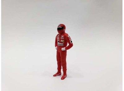 Cartrix 1:43 Nicky Lauda Ferrari rood figuur