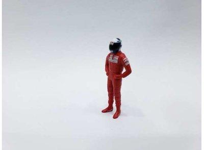 Cartrix 1:43 Alain Prost rood figuur